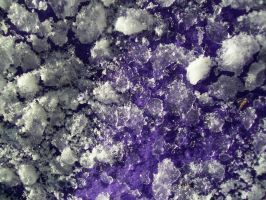 Purple and Ice Texture 1 by Jenna-RoseStock