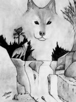 Not Even A Lone Wolf is Alone by ChasingEchoes