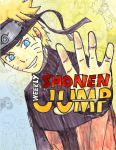 Naruto-shonenjump cover fanart submission by narudevilz