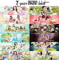 COMEBACK ... 7 years SNSD debut by Angelsicat224