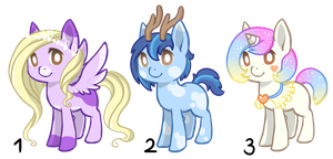 Pony adopts 2 OPEN by CatbunAdopts