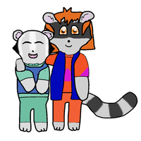 :AT: - Amber and Little Mountain for AspieBrayden by Shattered-Skye