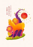 Year of the Horse / 2014 by electrifried
