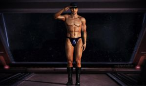 Kaidan Alenko, reporting for duty by mandyalenko