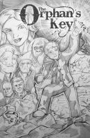 Orphan's Key Cover rough by Reiver85