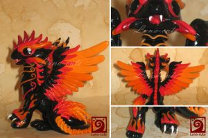 Fire dragon 02 by Luna-cuteXD