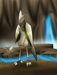 Skarmory's cavern by SilverLucario12
