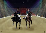 Pas De Deux - Demone  and Dream of Glory by SilviasDesires