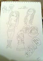 Some doodles by ashlee1203