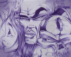 Ballpen-Sketch 6 by ASCOE