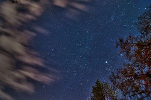 HDR Night Sky by blackismyheart90