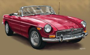 MGB by BillCorbett