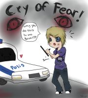 Pewdiepie FanArt Cry of fear by lNyo