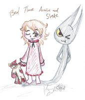 Annie Shade bed time by Kittychan2005