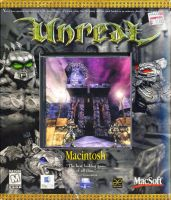 Unreal Front Cover by derrickthebarbaric