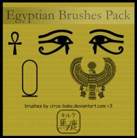 Egyptian Brushes Pack by Circe-Baka