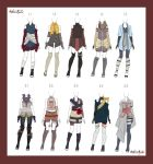 |Adoptable Outfit | Batch 1 | Closed by KatsuraSyulei