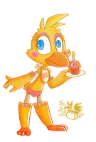 Toy Chica by Marie-Mike