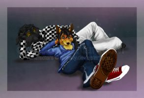 Crash and Buster by oxcat