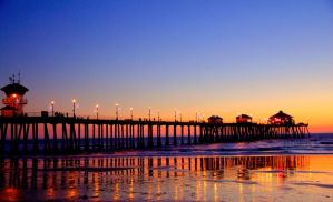 huntington beach, california by meraness