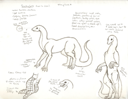 Scaleyfolk Template- DSE 5 by oblivion-of-sanity