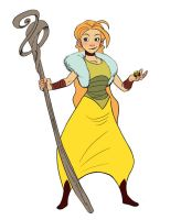 Eilonwy by StarvingStudents