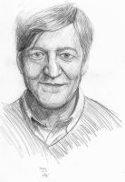 Stephen Fry [dedo12] by aberrentideals