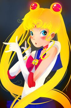 Sailor-moon by dntGoher