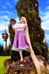Rapunzel Cosplay - I'm Strong! by Angel--Arwen