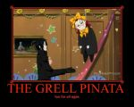 The Grell Pinata by deathgirl88