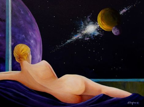 WINDOW TO THE UNIVERSE by VisionaryImagist