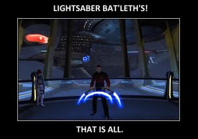 Lightsaber Bat'leth's by Link8909