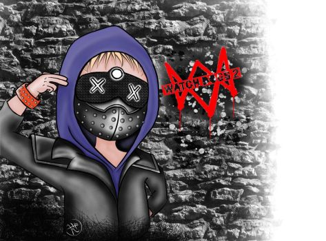 Wrench (from Watch Dog 2) by Laiaia9892