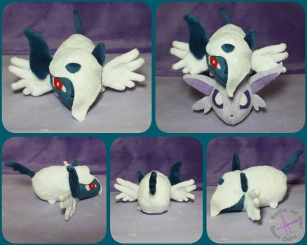 Mega Absol Tsum Tsum Pokemon Plush by Dawning-Love