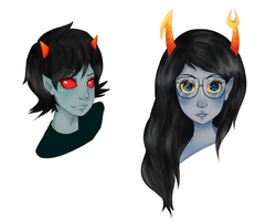 Pretty ladies by FanGirlFromHell