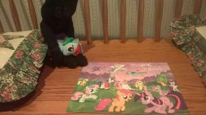 Me And Agony Did A Puzzle by PsychoScoutAndMedic
