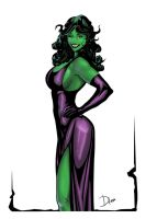 She-Hulk by D. P. Sancho by olo45