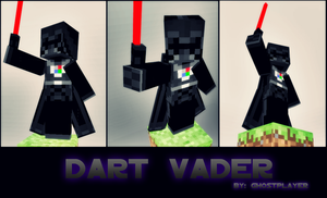 Darth Vader In Minecraft by GhosT-Player