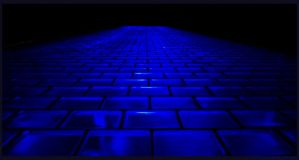 The Blue Brick Road by nofrojeff2000