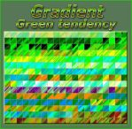 Gradient   Green tendency   by Tetelle-passion
