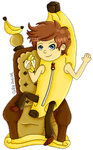 The Banana King by SillyArtist