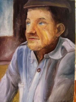 portrait of  a man by anianan