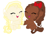 Vanilla swirl and Chocolate Moose (CLOSED) by MlpAdopts1234