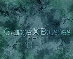 Grunge X Brushes by KeyMoon