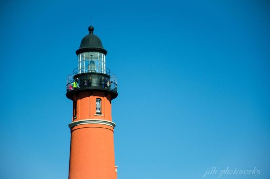 Lighthouse at the Ponce jetty by BoostedKnight