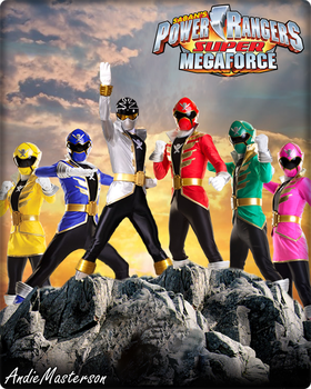 Power Rangers Super Megaforce Wallpaper Mega Force And Favourites By Huntermoon
