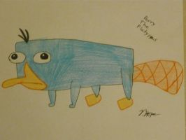 Perry the Platypus by Cody2897