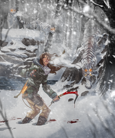 Rise of the Tomb Raider | Siberian Tomb Guardian by UltimateTattts