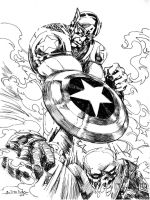 Captain America by Axistrizero by axis000