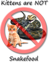 Kittens are not Snake Food by EsotericDichotomy